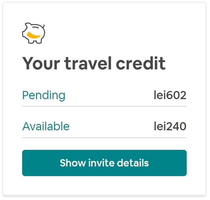 Creditul poate fi folosit fără a fi nevoit să atingi vreun plafon